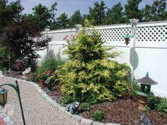 Custom Vinyl Fence Manufacturer Of ForeverVinyl Fencing Companies, Front Yard Fence, Custom Vinyl, Fences, New England, New Homes, Landscape, Plants, House