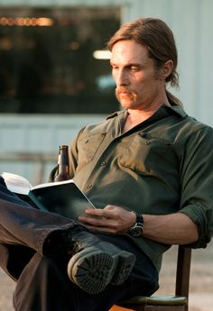 Matthew McConaughey as Detective Rust Cohle in True Detective