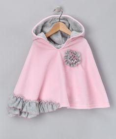 fleece poncho