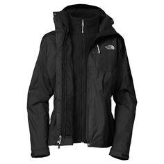 Black Northface triclimate jacket ♥