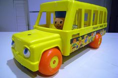 Vintage Fisher Price School Bus