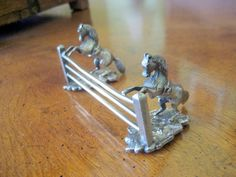 Vintage Silver Plate Horse Knife Rest   Circa by FrancesAttic, $65.00