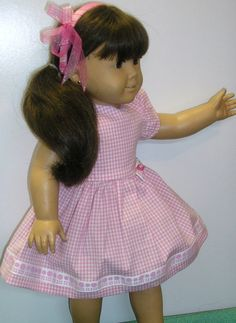 American Girl spring time dress Samantha 18 by NanaJerrisCreations, $20.00