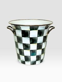Checkerboard Wine Cooler... Nice!!