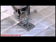Como usar o pé calcador para miçangas/peroras/strass - YouTube