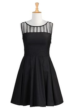 little black dress - customize sleeve length and skirt length! Get free customization with this link! #LBD #custom made dress http://www.shareasale.com/r.cfm?B=486316&U=992811&M=23330&urllink=