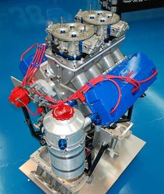 Roush Yates PS001 Ford 500 Cubic Inch Pro Stock Engine