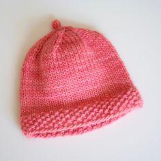 Baby beanie, so simple. #knit #knitted #yarn #handmade #craft #ravelry