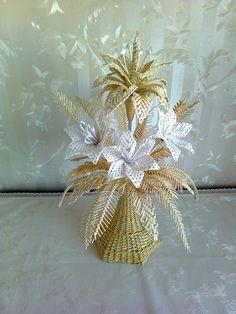 Тамара Задорина - Мои плетёнки из бумажных трубочек. | OK