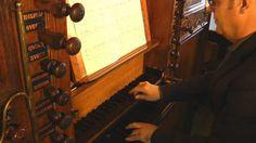 Willem van Twillert plays his Var. Ps. 49, Organ, Nijkerk