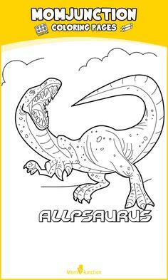 FREE Dinosaurs Colouring Sheets