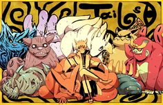 the tailed beasts of Naruto