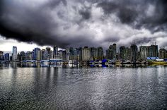 Vancouver is Canada's third most rainy city, with over 161 rainy days per year. Description from markosun.wordpress.com. I searched for this on bing.com/images