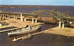 Burlington Skyway Bridge Hamilton Ontario Canada