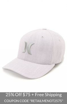 Hurley One   Only Texture Flexfit Hat 823534d42841