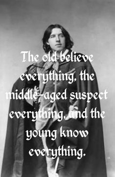 The difference between the #old, the #young, and those in between...