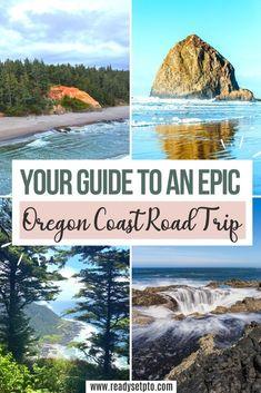 Oregon Coast Roadtrip, Oregon Vacation, Oregon Road Trip, West Coast Road Trip, Us Road Trip, Oregon Travel, Travel Usa, Places To Travel, Places To Visit