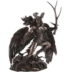 The Morrigan Celtic Goddess of Shadow, War and Death Statue | The Luciferian Apotheca - Your Satanic, Left Hand Path & Occult Shop