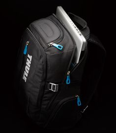 My new Thule Crossover Backpack ... incredibly comfortable, perfect style.