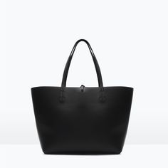 Image 1 of REVERSIBLE CONTRAST SHOPPER from Zara