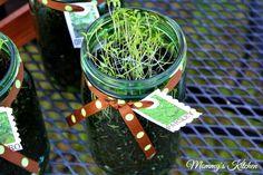 DIY Spring Project: Mason Jar Herb Garden
