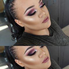 Jahleshia Deflavelle @makeupwithjah Instagram photos #makeup#beauty