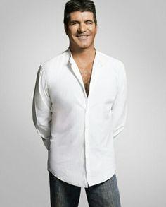 Simon Cowell, Henry Cavill, Chef Jackets, Shirt Dress, Mens Tops, Shirts, Fashion, Celebs, Moda