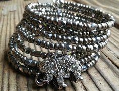 Hey, I found this really awesome Etsy listing at https://www.etsy.com/listing/276534516/elephant-wrap-bracelet