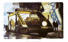 Syd Mead, Blade Runner