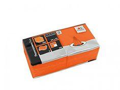 Servietten Fasana 1000 Stück | 3-lagige Papierservietten in Orange | Serviette…