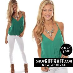 EMERALD CITY TOP - GREEN