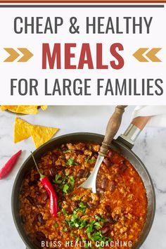 Are you on a budget but still want to eat healthy? I've gathered up a ton of recipes for your family to try. Eating cheap doesn't have to mean unhealthy. #healthyrecipes #budgetrecipes #budgetmeals #cheapmeals #healthyandcheapmeals #healthymeals #largefamilyrecipes Healthy Tacos, Eat Healthy, Healthy Recipes, Yummy Recipes, Free Recipes, Frugal Meals, Cheap Meals, Budget Meals, Large Family Meals