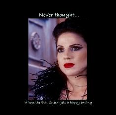 OUAT Never thought I'd hope for the Evil Queen