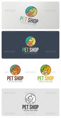 Pet Shop Logo Template #GraphicRiver Pet Shop Logo is highly suitable for pet shop, pet food, veterinary, pet clinic, pet care products and similar businesses. Features: 3 Vector File Types included: AI, EPS, and CDR 3 Color variations 1 Grayscale Version 1 Black & White Version Fonts used: BEBAS-NEUE PT-SANS If you have any problems with your purchase feel free to contact me using my Profile Page Please, don't forget to rate this logo! Created: 17April13 GraphicsFilesIncluded: VectorEPS…