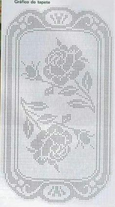 Page 3 of 3 Sofa Cover Crochet Tablecloth, Crochet Doilies, Crochet Lace, Filet Crochet Charts, Crochet Stitches, Embroidery Patterns, Crochet Patterns, Crochet Home Decor, Cross Stitch Kits