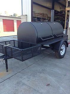 Competetion BBQ Trailer Smoker -