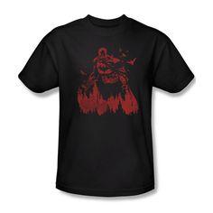 Batman DC Comics Red Knight Youth Ladies Junior Women Men V-Neck L/S T-shirt Top #Trevco #GraphicTee