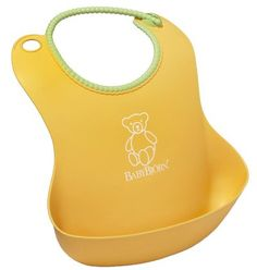 BabyBjorn Soft Bib - Yellow $11