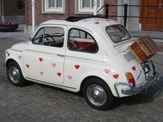 The perfect customization to show just how much you love your FIAT 500