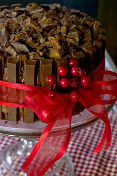Lumberjack Kit Kat Cake » Just a Smidgen