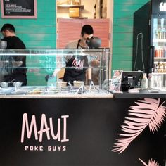 Neu in Hamburg! fresh Hawaiian Food bei den Maui Poke Guys / best Poke Bowls, so fresh & so clean, yummie! mehr dazu auf:https://mylovelyhamburg.me/2018/01/22/maui-poke-guys-mittagstisch-hamburg/