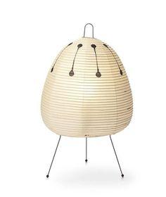 Stehend-Lampe / originelles Design / für Innenbereich / aus Papier AKARI : 1AD vitra