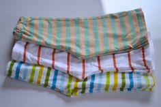 easy sew baby pants