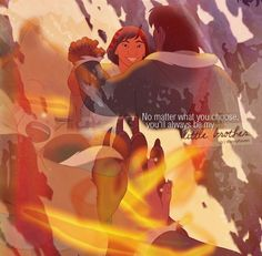 Brother Bear is like the sweetest thing ever there are so many good concepts and this is my favorite part