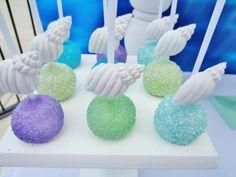 Ariel Birthday Party Cake Pops