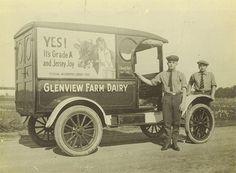 Ford Model T Milk Truck