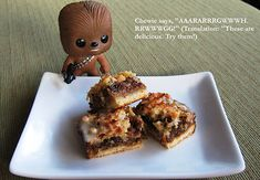 """Celebrate Wookiee Wednesday by making your own """"Chewie Chews"""" with this recipe"""