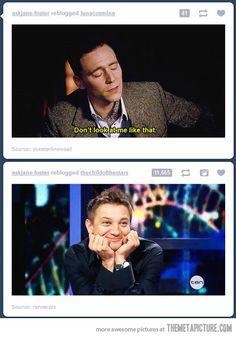 Hilarious! Loki. <3