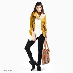 Check out Heart Of Gold at DailyLook, Love this outfit