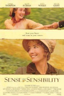 """Sense and Sensibility"" (1995).  Rich Mr. Dashwood dies, leaving his second wife and her three daughters poor by the rules of inheritance. The two eldest daughters are the titular opposites.  Based on the Jane Austen novel.  I thoroughly enjoyed this movie."
